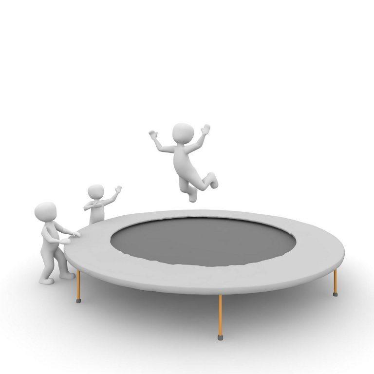 Jak się nazywają części trampoliny?