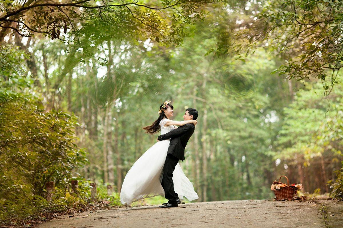 Ślubne fotografie
